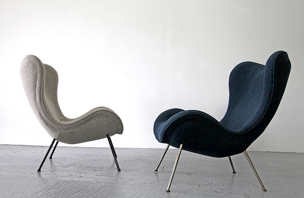 lounge chair by fritz neth 1950 adore modern. Black Bedroom Furniture Sets. Home Design Ideas