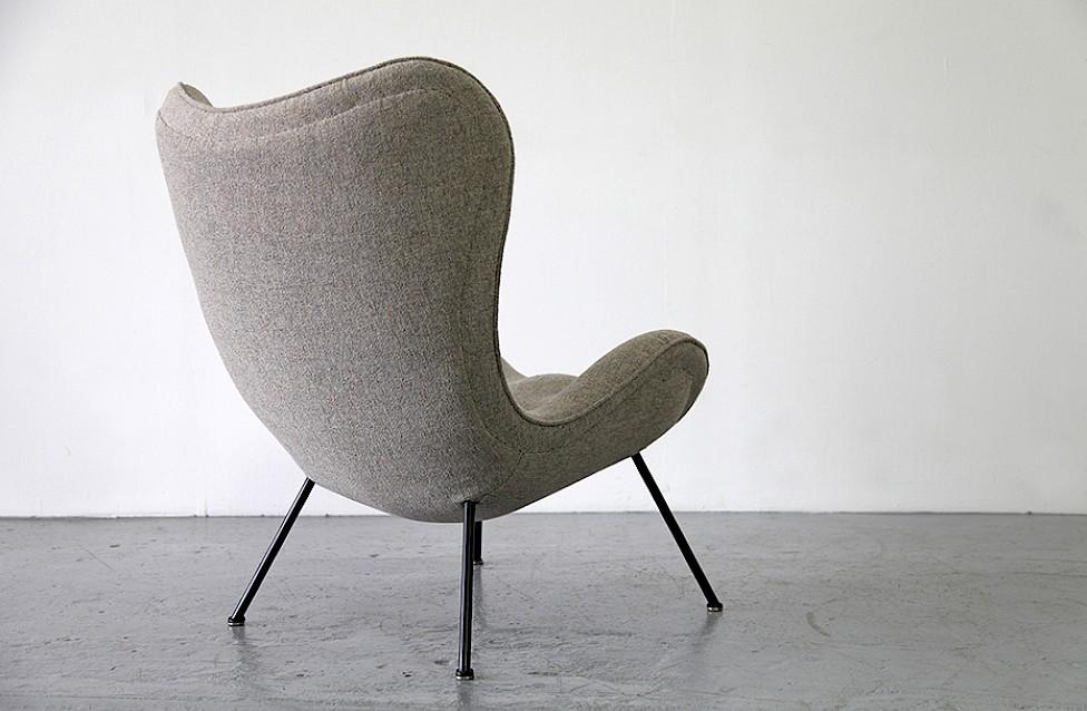 lounge sessel von fritz neth 1 2 adore modern. Black Bedroom Furniture Sets. Home Design Ideas