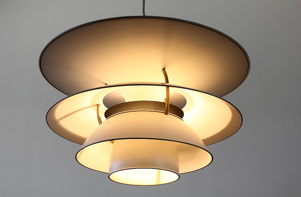 "Danish Modern Large Pendant Lamp ""Charlottenborg"" by Poul Henningsen for Louis Poulsen - Produced in Denmark_3"