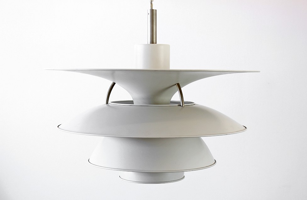 "Danish Modern Large Pendant Lamp ""Charlottenborg"" by Poul Henningsen for Louis Poulsen - Produced in Denmark_Gallery"