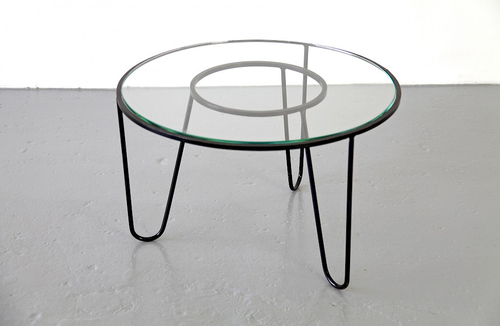 Bellevue Side Table / Couchtisch by Mathieu Matégot 1950 - Made in France_4