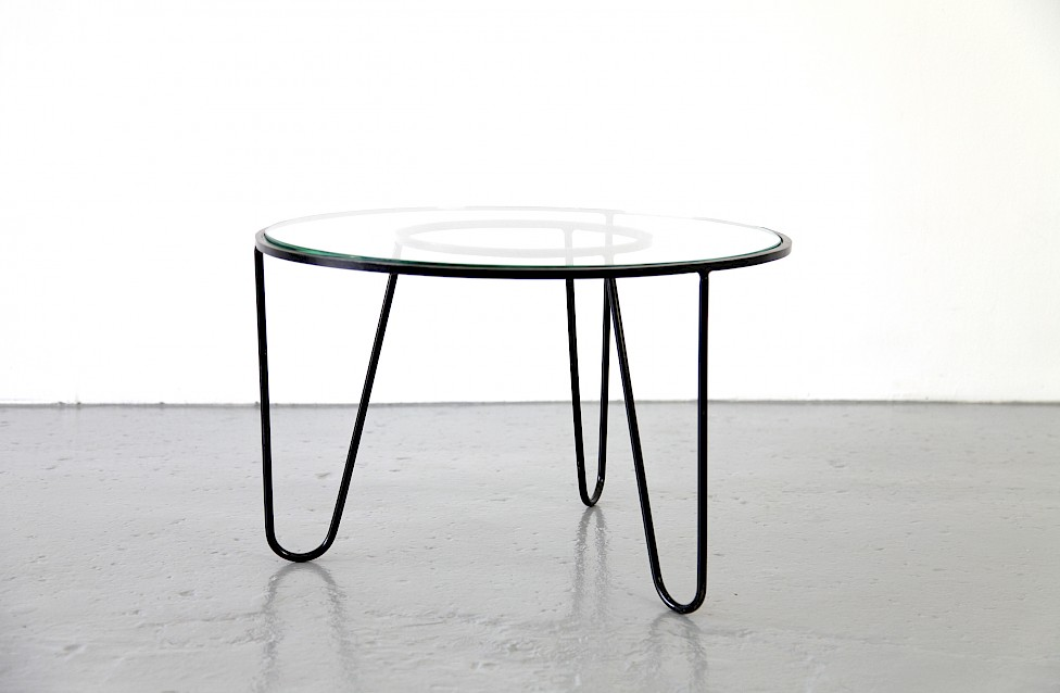 Bellevue Side Table / Couchtisch by Mathieu Matégot 1950 - Made in France_2
