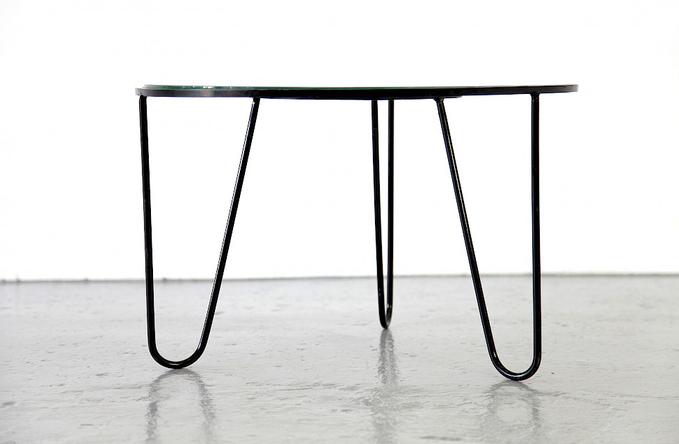 Bellevue Side Table / Couchtisch by Mathieu Matégot 1950 - Made in France_1