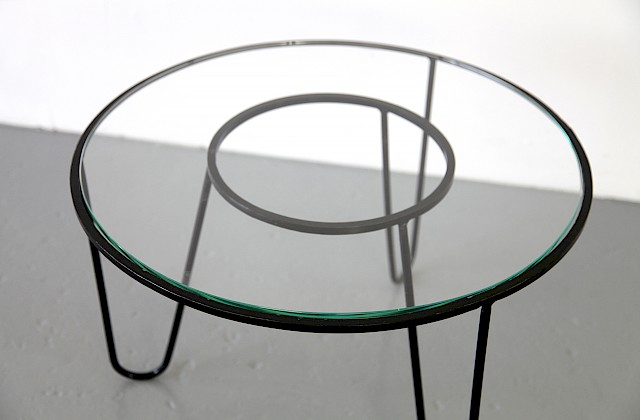 Bellevue Side Table / Couchtisch by Mathieu Matégot 1950 - Made in France_Gallery