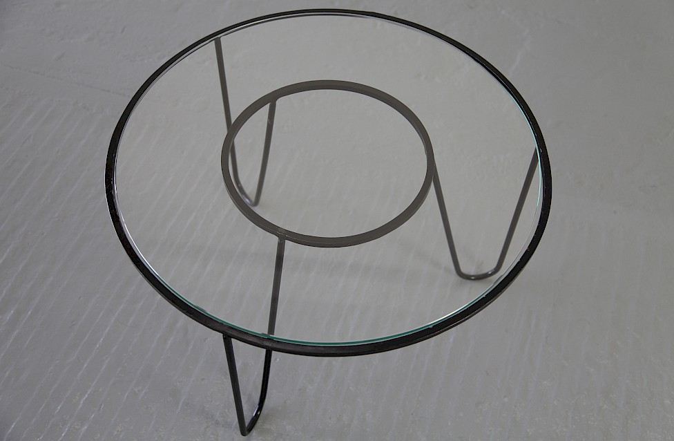 Bellevue Side Table / Couchtisch by Mathieu Matégot 1950 - Made in France_5