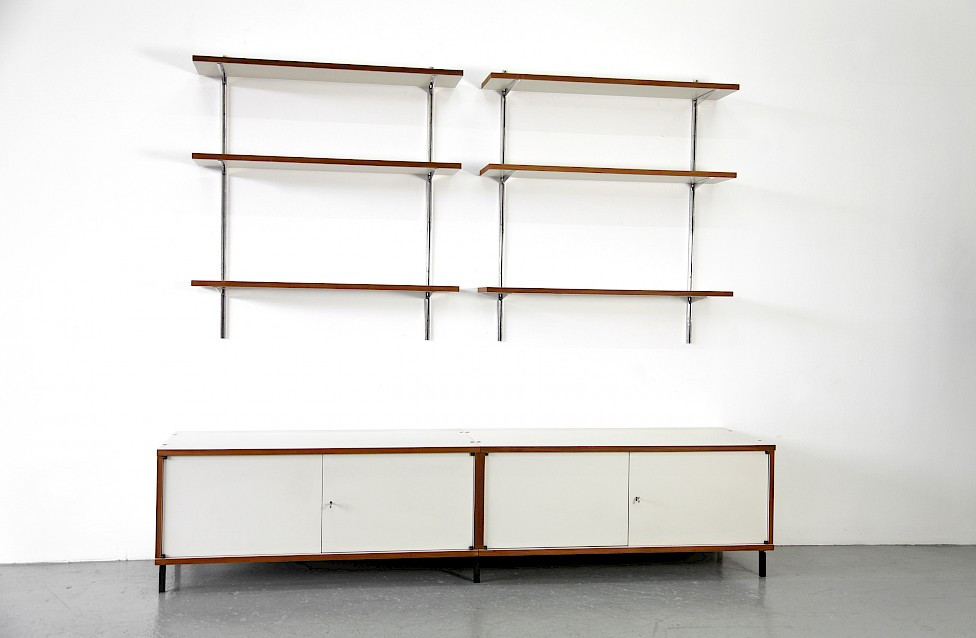 Mid Century Modern Sideboard and Wall Unit Model M 125 by Hans Gugelot for Bofinger 1957_2