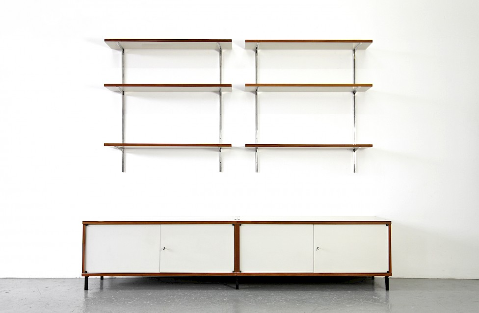 Mid Century Modern Sideboard and Wall Unit Model M 125 by Hans Gugelot for Bofinger 1957_Gallery