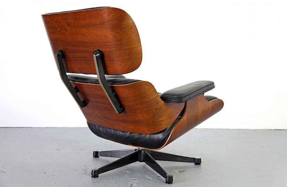 rosewood lounge chair by charles und ray eames adore modern. Black Bedroom Furniture Sets. Home Design Ideas