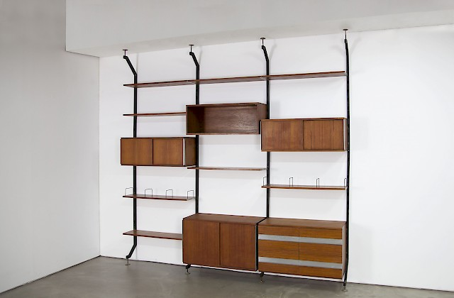 Teak Wall Unit Urio