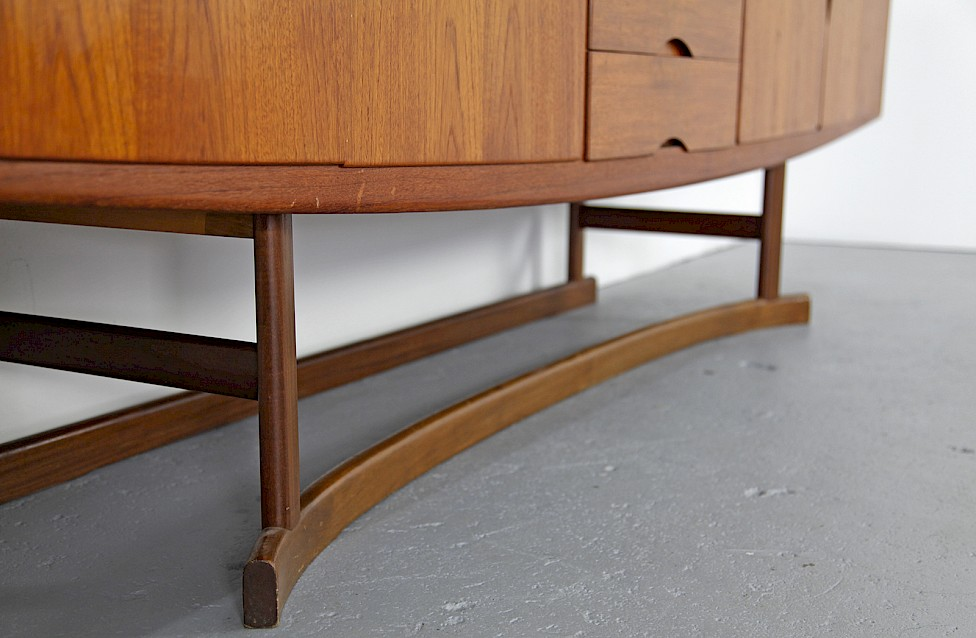 Danish ModernTeak Sideboard Model HB 20 by Johannes Andersen for Hans Bech 1968 - Made in Denmark_5