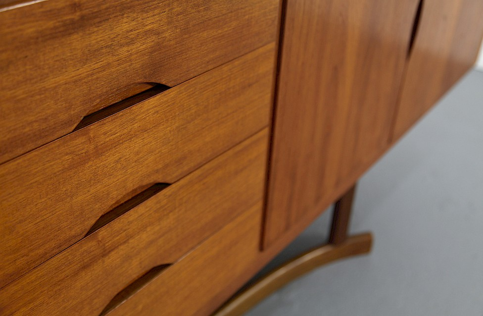 Danish ModernTeak Sideboard Model HB 20 by Johannes Andersen for Hans Bech 1968 - Made in Denmark_6