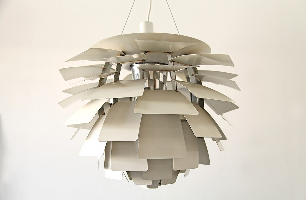 Danish Modern Poul Henningsen Artichoke Pendel produced by Louis Poulsen - Made in Denmark_1