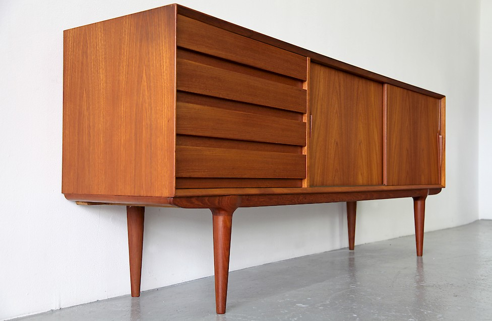Gunni Omann Teak Credenza Model 18 by Omann Junior - Made in Denmark_Gallery