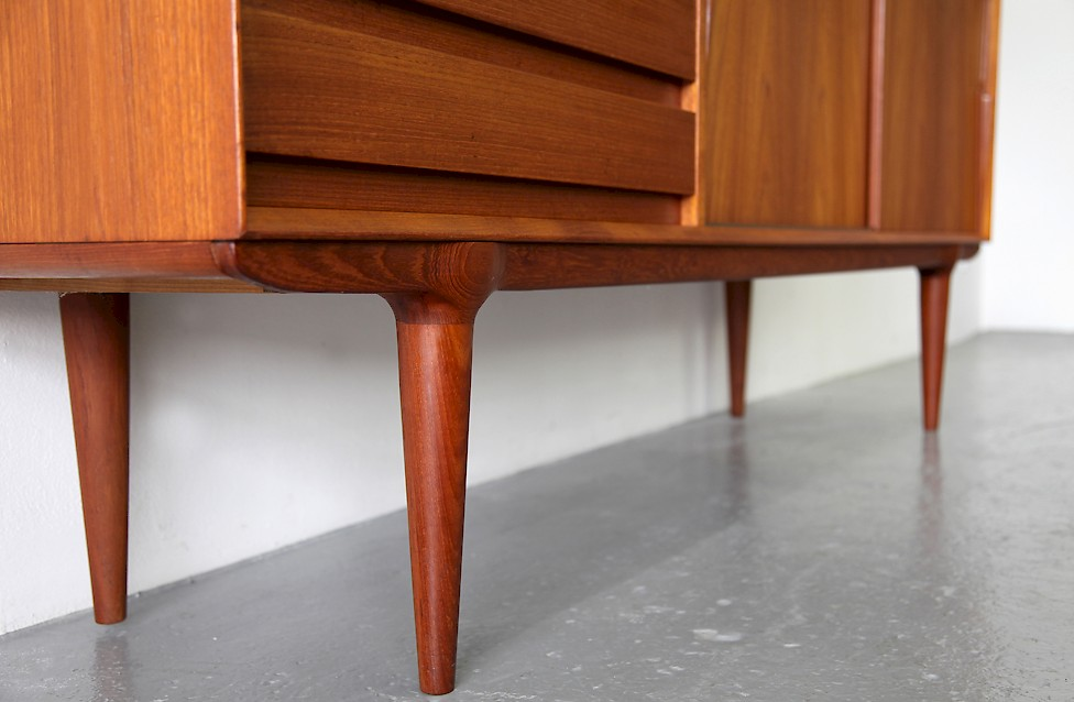 Gunni Omann Teak Credenza Model 18 by Omann Junior - Made in Denmark_1