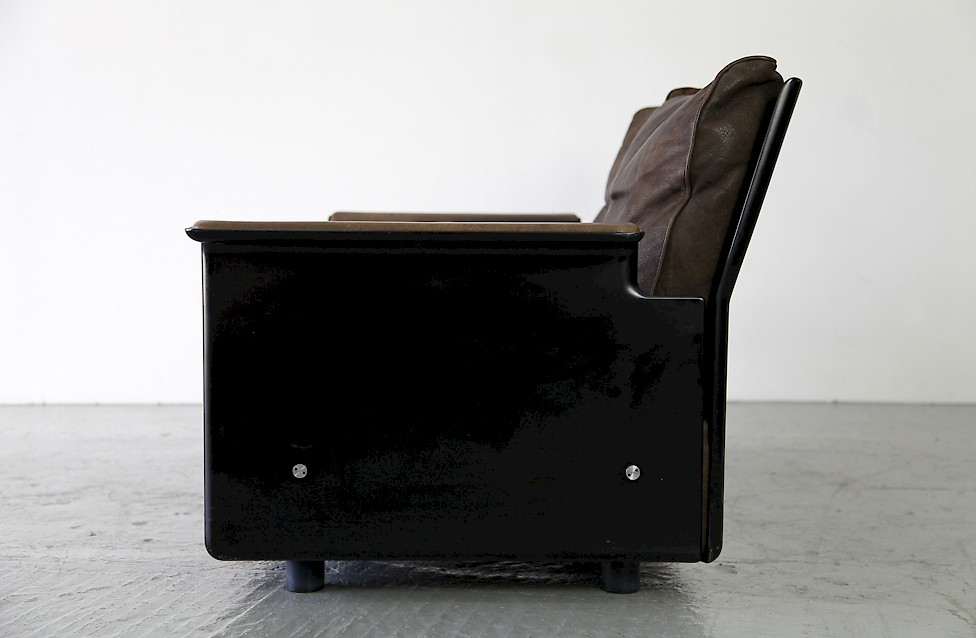 dieter rams zweisitzer leder sofa adore modern. Black Bedroom Furniture Sets. Home Design Ideas