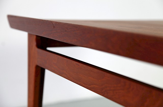 Danish Modern Teak Coffe Table / Couchtisch by Finn Juhl for France and Daverkosen_Gallery