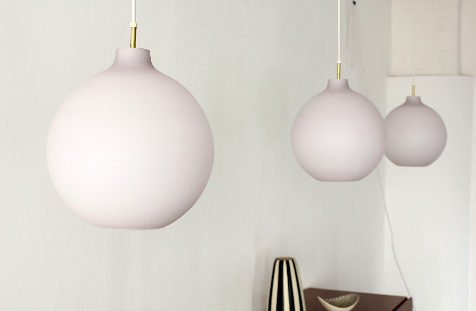 "Danish Modern Glass ""Satellit"" Pendant Lamp by Vilhelm Wohlert for Louis Poulsen - Made in Denmark_Gallery"