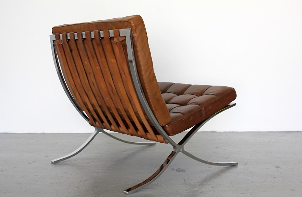 Mies Van Der Rohe Early 1960s Barcelona Chair Adore Modern