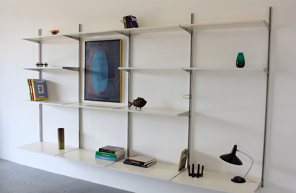 Mid Century Modern Shelving System / Wall Unit Model CSS by George Nelson for Herman Miller 1957_Gallery