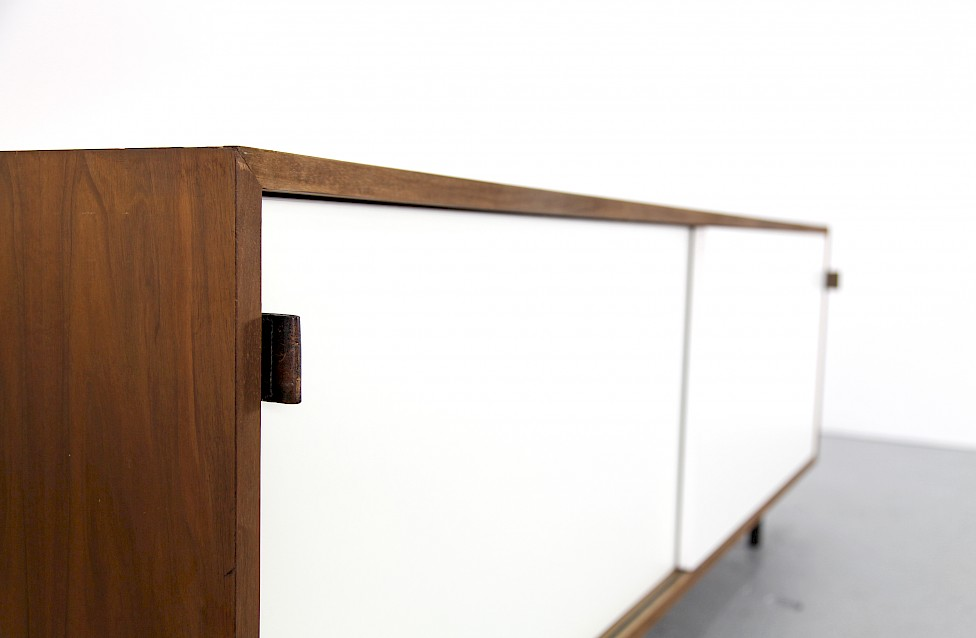 Design Classic Walnut and Formica Sideboard by Florence Knoll for Wohnbedarf_Switzerland_Gallery
