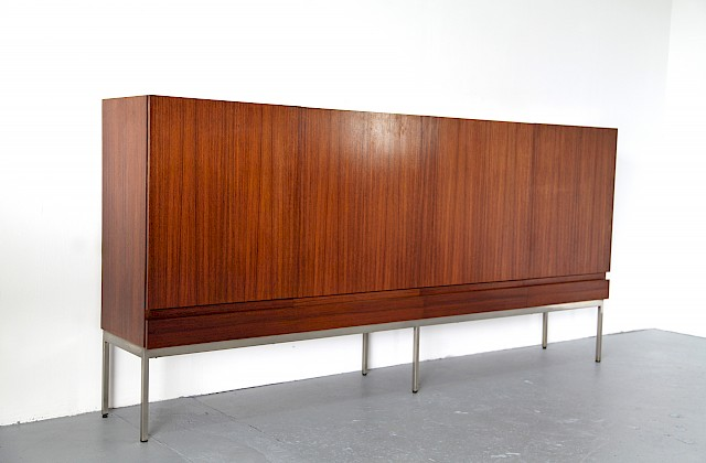 Mid Century Modern Ostindian Rosewood Highboard B60 by Dieter Waeckerlin for Behr Moebel - Made in Germany_Gallery