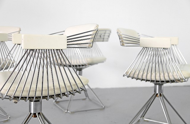Four Chairs by Rudi Verelst for Novalux