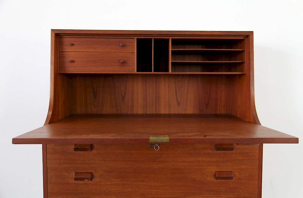 b rge mogensen teakholz sekret r adore modern. Black Bedroom Furniture Sets. Home Design Ideas