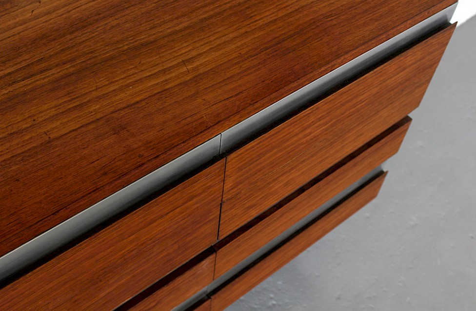 Wall Unit / Standing System Teak by Ico Parisi for MIM Roma - Made in Italy_4