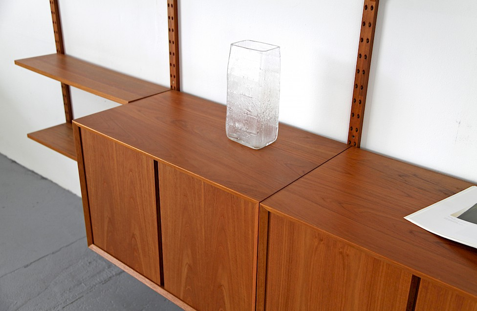 Teak Wall Unit Selving System Model Cado by Poul Cadovius for Cado - Made in Denmark_7