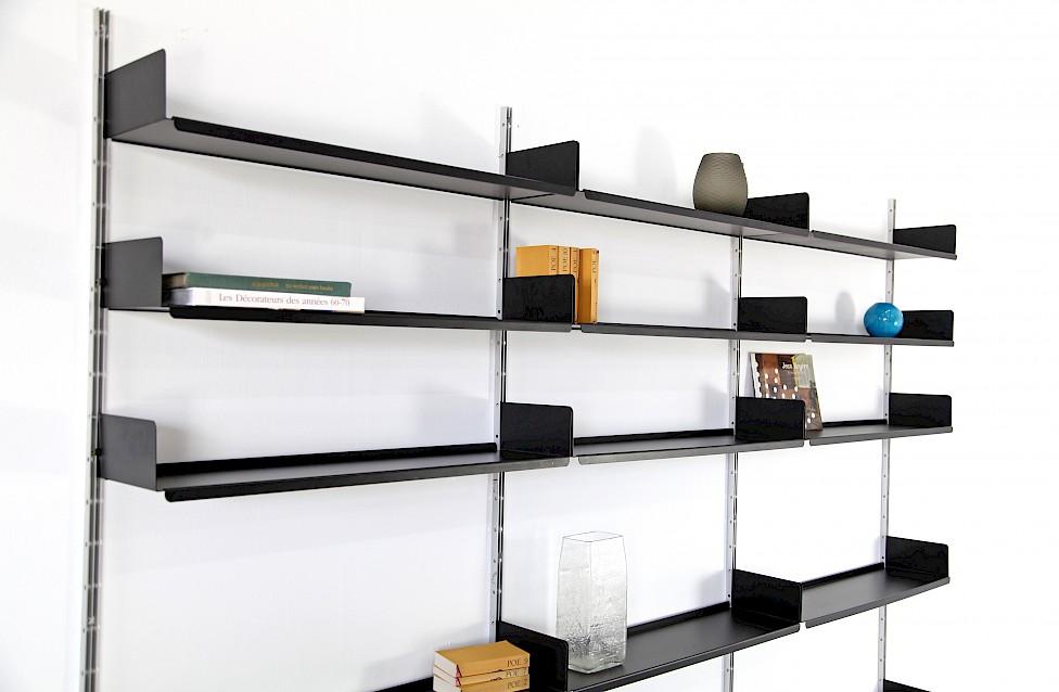 dieter rams regalsystem schwarz nr 1 adore modern. Black Bedroom Furniture Sets. Home Design Ideas