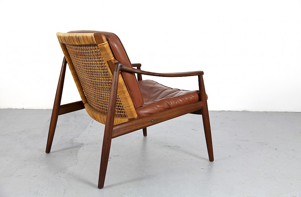 Mid Century Modern Easy Chair By Hartmut Lohmeyer No 1