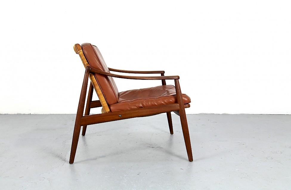 Mid Century Modern Teak Sessel von Hartmut Lohmeyer Nr 1