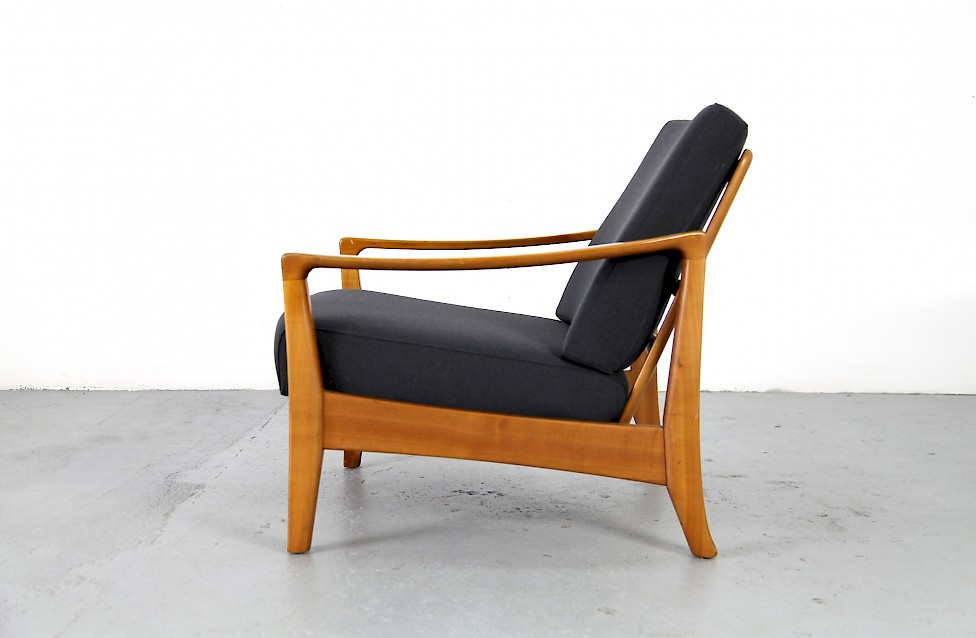 Mid Century Modern Easy Chair from the 1950u00b4s / No. 1 - Adore Modern