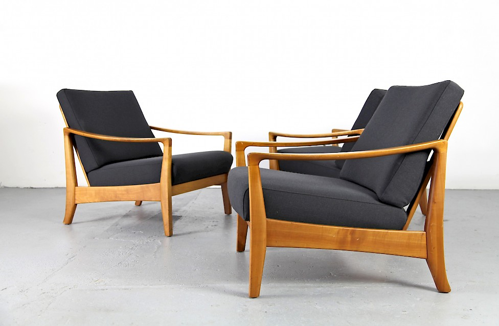 Mid Century Modern Sessel aus den 1950er Jahren Nr 2
