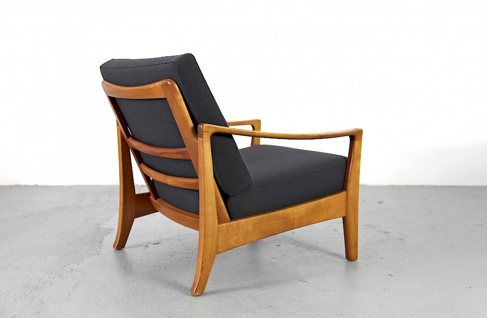 mid century modern sessel aus den 1950er jahren nr 2. Black Bedroom Furniture Sets. Home Design Ideas