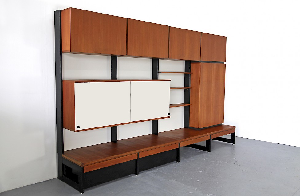 dieter rams modulares regalsystem aus teakholz adore modern. Black Bedroom Furniture Sets. Home Design Ideas
