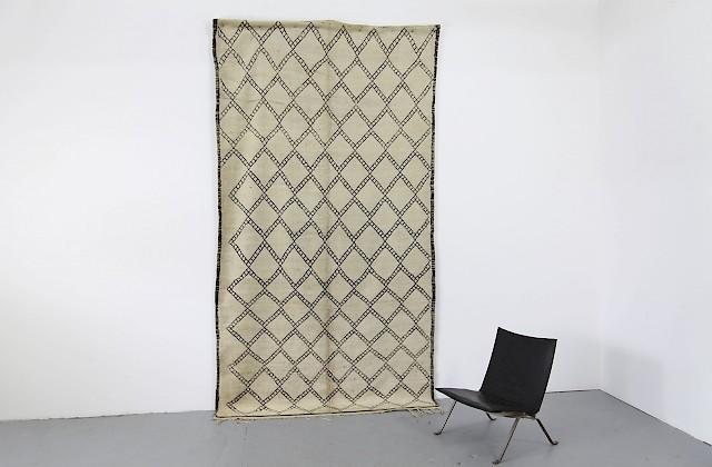 Berber teppich modern  Vintage Berber Wollteppich / Rautenmuster - Adore Modern