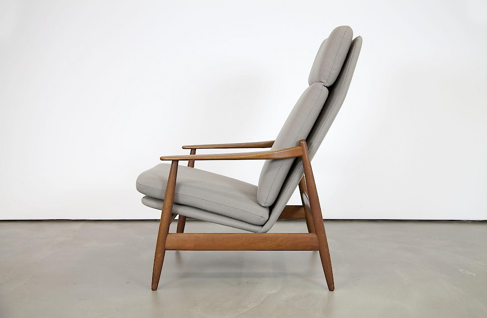 Highback Arm Chair By Poul Volther
