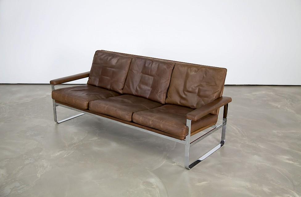 Dänisches Echtleder Sofa - Adore Modern