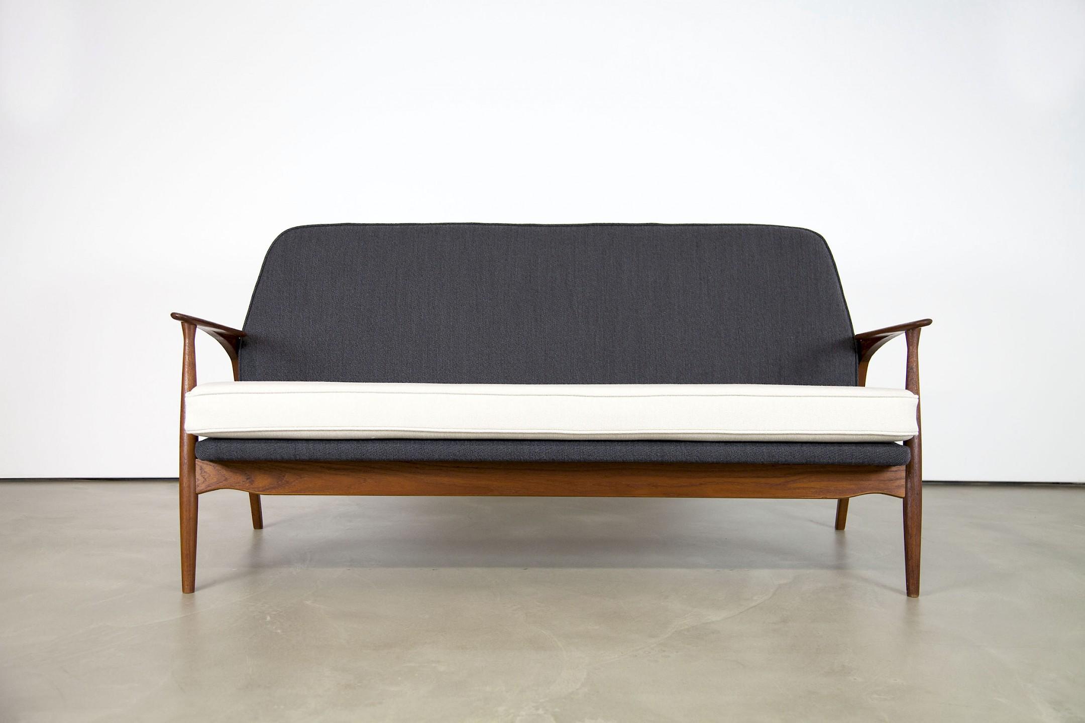 Teak Sofa by Ib Kofod Larsen Adore Modern