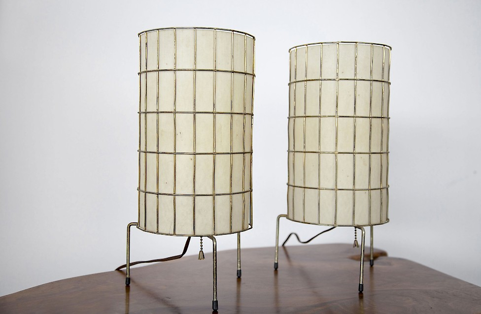 Two Table Lamps by Paul Mayen