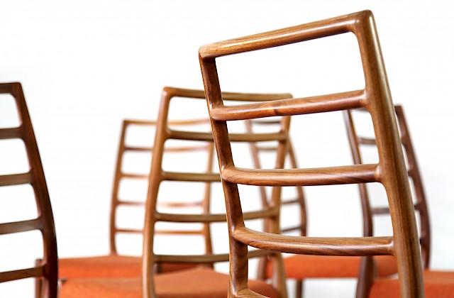 f nf teak st hle mod 82 adore modern. Black Bedroom Furniture Sets. Home Design Ideas