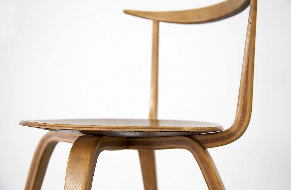 Captivating Pretzel Chair By George Nelson