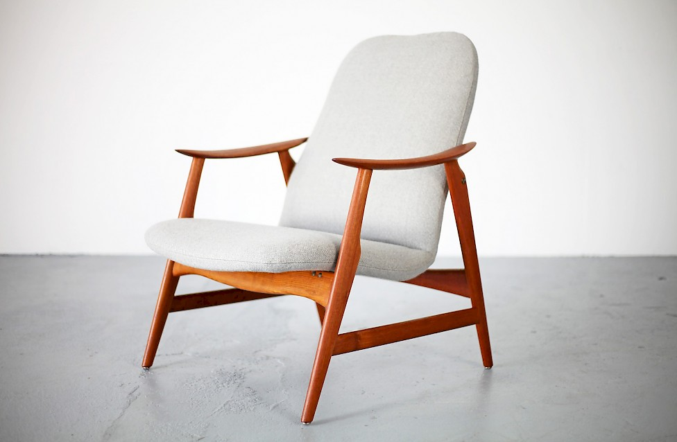 Mid-Century Modern Teak Easy Chair
