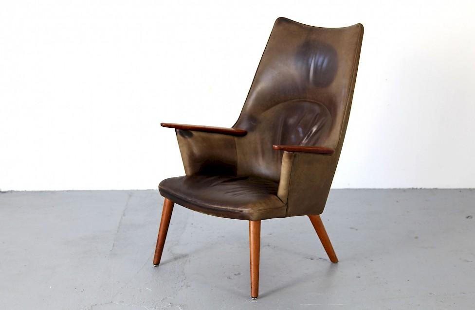 sessel ap 27 von hans j wegner adore modern. Black Bedroom Furniture Sets. Home Design Ideas