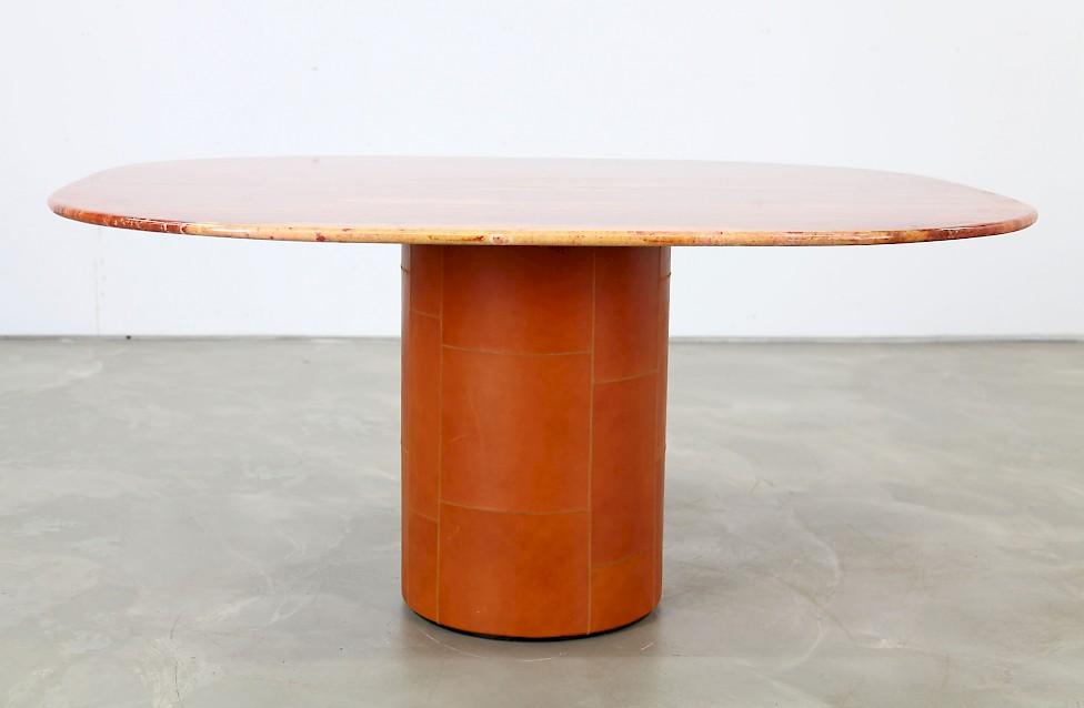 Tisch von b b italia adore modern for Esstisch travertin