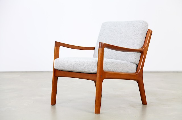 Teak Easy Chair by Ole Wanscher