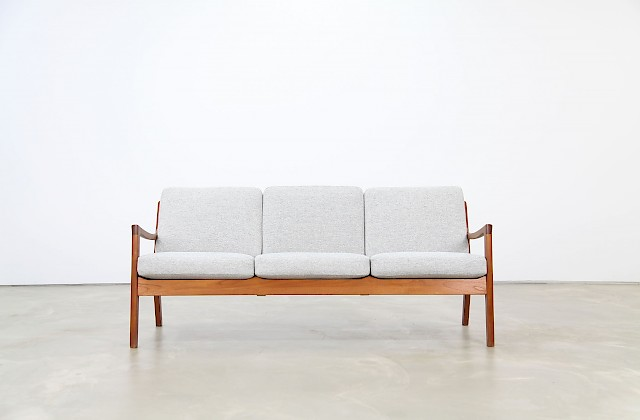 Teak Sofa by Ole Wanscher