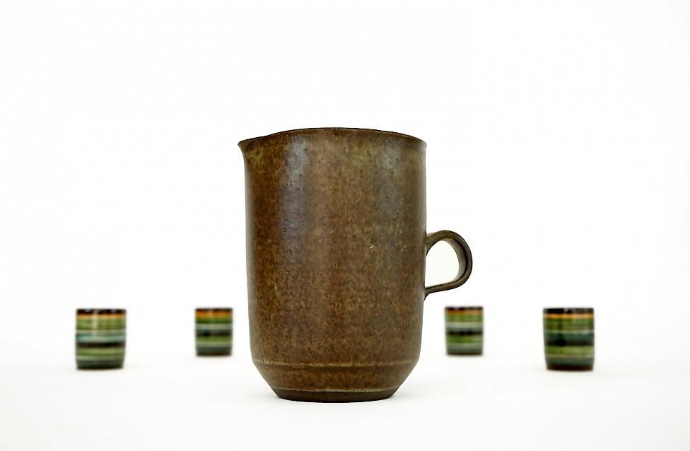 Bücking-Börnsen / Mug and four Cups
