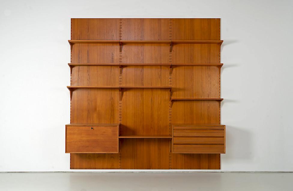 Teak Wall Unit by Poul Cadovius
